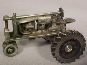 Pewter Farmall F-20 By Spec Cast