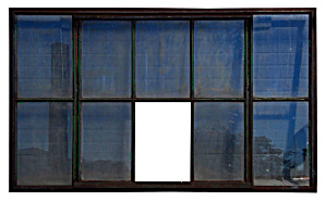 Industrial Iron Window Frame