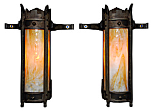 Craftsman Antique Exteroir Wall Sconces