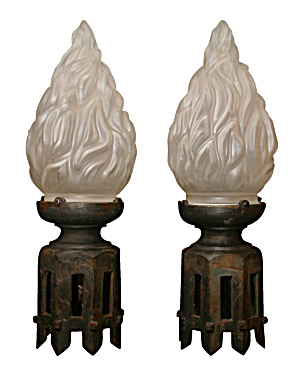 Antique Bronze Post Lights