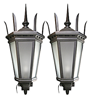 Large Exterior Antique Wall Lights