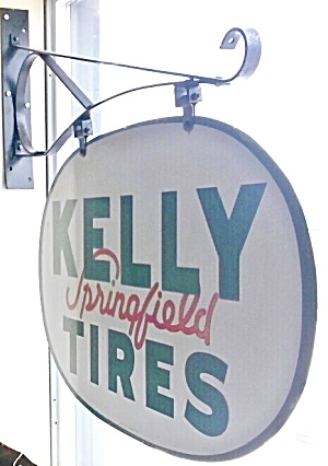 Kelly Tire Sign