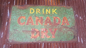 Canada Dry Sign