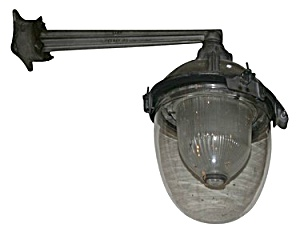 Halophane Industrial Wall Sconce