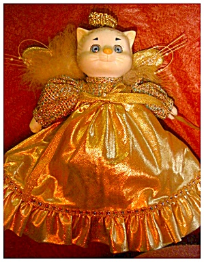 Dolly Dingle Doll Cat By Bette Ball