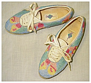 Tennis Shoes, Beaded