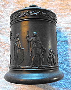 Wedgwood Black Basalt Cannister