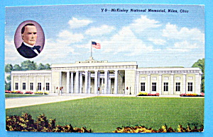 William Mckinley Postcard