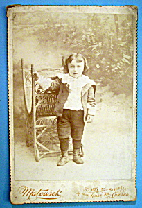 I Feel Ridiculous - Die Cut Cabinet Photo - Little Boy