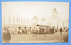 Entrance & Party Car, Sesqui Centennial Exposition Card