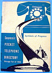 1950 Chicago Fair, Pocket Telephone Directory