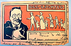 Dee-lighted Postcard