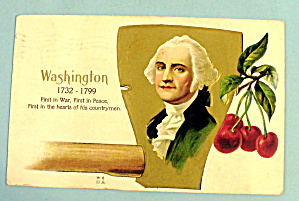 George Washington Postcard (First In War 1732-1799)