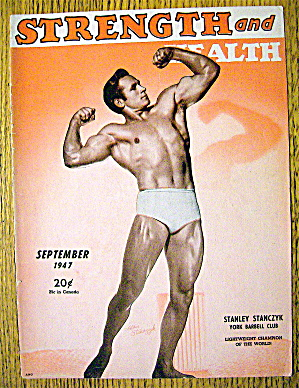 Stanley Stanczyk 1947 Strength & Health Magazine Cover