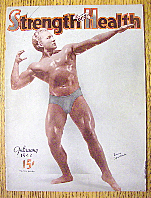 Ludwig Schusterich 1942 Strength & Health Cover