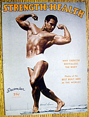 Manuel Drown 1948 Strength & Health Magazine Cover