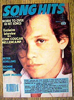Song Hits March 1984 John Cougar Mellencamp