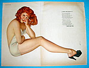 Esquire Girl Pin-up May 1943 A Little Girl Grows Up