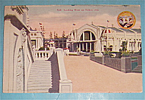 Looking West On Yukon Ave Postcard (Yukon Pac Expo)