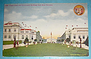Puget Plaza And Government Buildings Postcard
