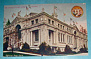Oriental Foreign Exhibit Building Postcard-alaska Expo