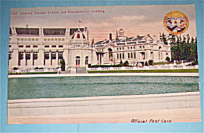 Oriental Foreign Exhibit & Manufacturers Bldg Postcard