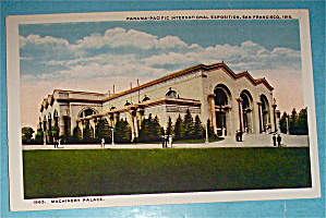 Machinery Palace Postcard (Panama Pacific Exposition)