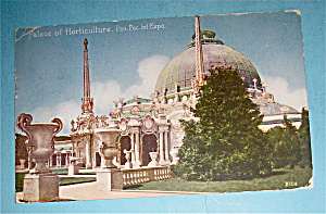 Palace Of Horticulture Postcard (Pan Pac Intl Expo)