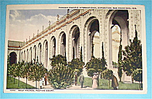 West Facade, Festive Court Postcard (Pan Pac Expo)