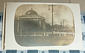 1909 Alaska Yukon Exposition Rppc Real Photo Postcard
