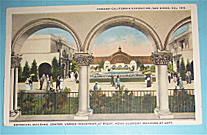 Botanical Building Postcard (Panama California Expo)
