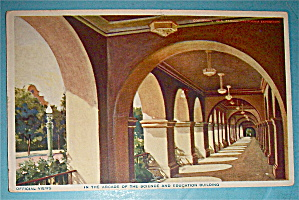 Arcade Of The Science And Education Building Postcard