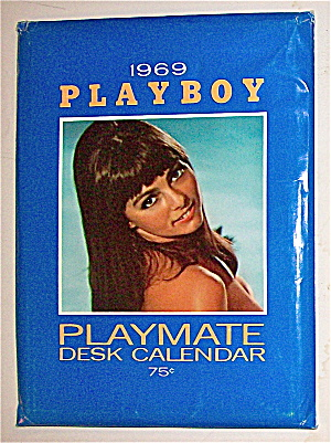 Playboy Playmate Desk Calendar (1969) Connie Kreski