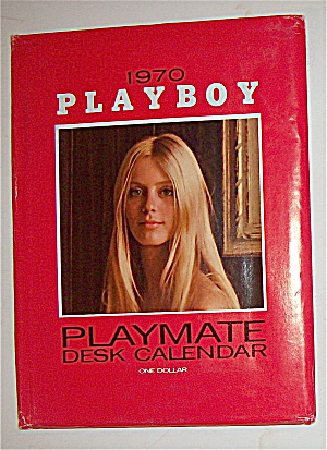 Playboy Playmate Desk Calendar (1970) Connie Kreski