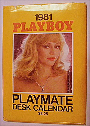 Playboy Playmate Desk Calendar (1981) Monique St Pierre