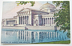 Museum Of Science And Industry, Chicago Expo Postcard
