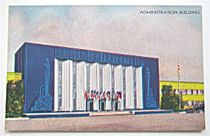 Administration Building, Century Of Progress Postcard