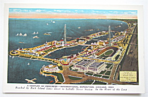 International Exposition, Chicago 1933 Postcard