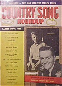 Country Song Roundup - February 1963 - Darrell Mccall