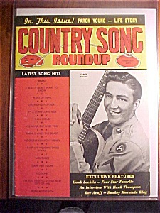 March-april 1954 Country Song Roundup