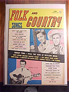 Folk And Country Songs - June 1959 - Goldie Hill