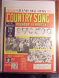 Country Song Roundup Yearbook - 1965