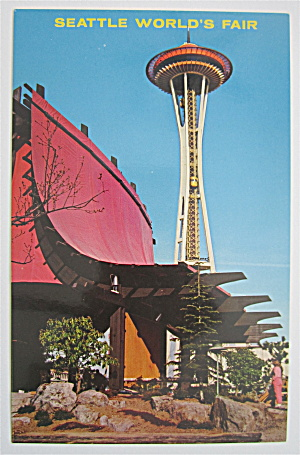 Space Needle, Seattle World's Fair Postcard
