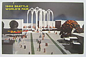 Us Science Pavilion, Seattle World's Fair Postcard