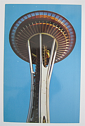 Eye Of The Needle, Seattle World's Fair Postcard