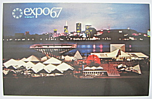 Canadian Pavilion, Montreal, Canada Expo 67 Postcard