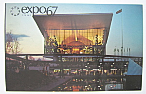 The Pavilion Of The Soviet Union, Expo 67 Postcard