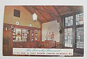 Pabst Brewing Company In Milwaukee Wisconsin Postcard
