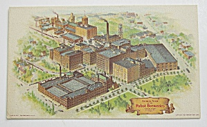 Aerial View Of Pabst Brewing Company In Milwaukee Wis.