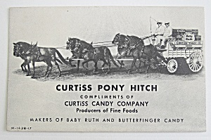 Curtiss Pony Hitch - Baby Ruth & Butterfinger Candy